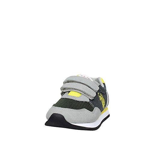 U.s. Polo Assn NOBIK4210S6/MH2 Zapatillas de Deporte Bajas Boy Gris