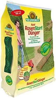 Neudorff Azet RasenStart - Abono para plantaciones nuevas de césped (5 kg): Amazon.es: Jardín