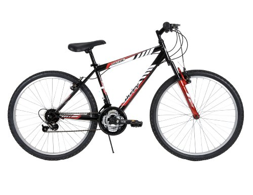 Huffy Bicycle Company Men's 26324 Alpine Bike, Metallic Blac