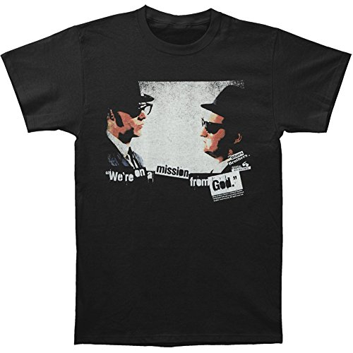 Blues Brothers Mission From God Black T-Shirt Tee
