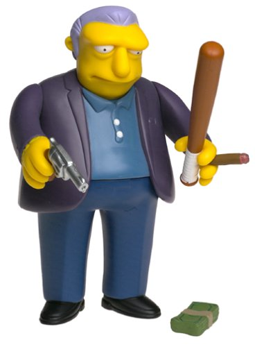 The Simpsons FAT TONY All-Star Voices JOE MANTEGNA Series 1 World Of Springfield Interactive Action ()