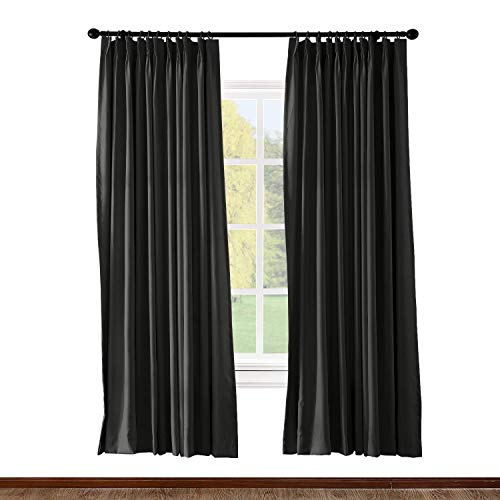Prim Drapes and Curtains Patio Door Pinch Pleated Bedroom 52
