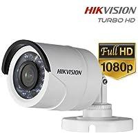 Cmera HD Turbo Bullet Infravermelho Híbrida 1080p Full HD 3,6mm 2.0 Hikvision