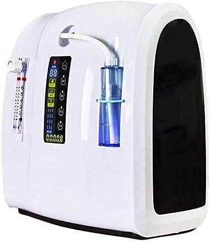 Knoijijuo Concentrador de oxígeno Generador de Oxígeno - 220-240V ...