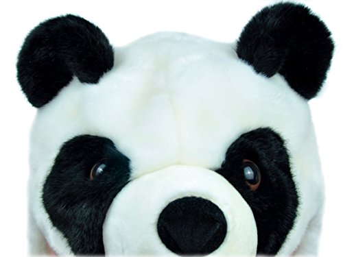 PANDALA Super Soft Stuffed Panda Bear Plush Winter Hat -Halloween Costume Festival Outfit