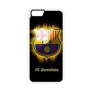 Language still DIY Case Futbol Club Barcelona For iPhone 6 Plus 5.5 Inch QQW783084