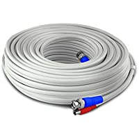 Swann 15m/50ft BNC 960H/AHD/TVI extension Surveillance Camera Cable, white (SWPRO-15MTVF-GL)
