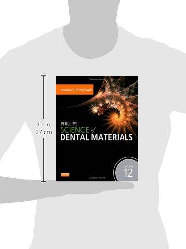 Phillips' Science of Dental Materials, 12e (Anusavice Phillip's Science of Dental Materials)