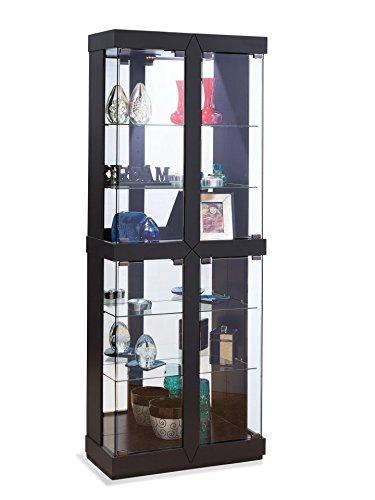 Philip Reinisch Rohe II Curio Cabinet, Black Finish