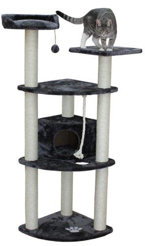 Kitty Mansions Toronto Cat Tree, Grey
