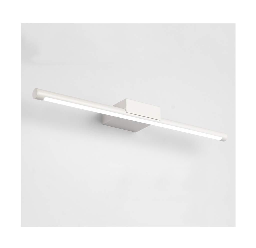&Badezimmerbeleuchtung Spiegel Frontleuchte Einfache moderne LED Schmiedeeisen Acryl Bad Wandleuchte Licht (Farbe   weißes Licht-16W 70CM)