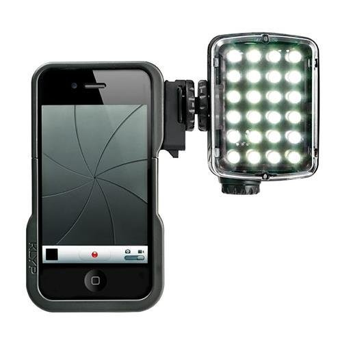 Manfrotto MKLKLYP5 KLYP Case for iPhone 5 with ML240 LED, Tripod and Light Connectors (Black)
