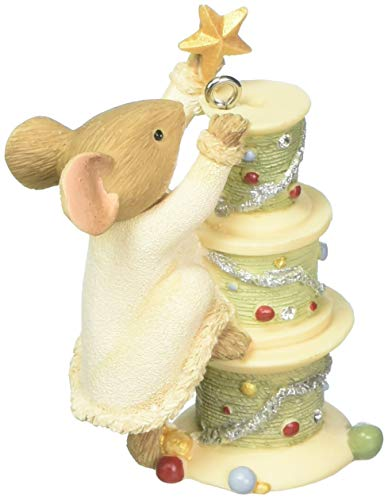 (Enesco Heart of Christmas O Tannen Bobbin Hanging Ornament, Multicolor)