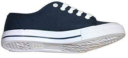 Dunlop Damen Sneaker Navy blau