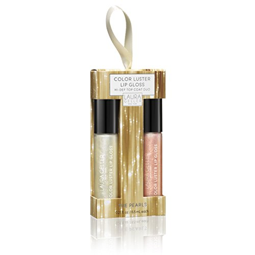 Laura Geller New York Color Luster Lip Gloss Top Coat Duo