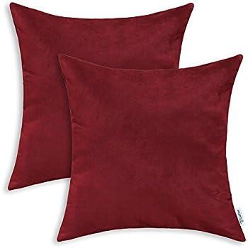 Amazon 40x40 Microsuede Decorative Pillow Shams Set Of 40 Magnificent Home Depot Decorative Pillows