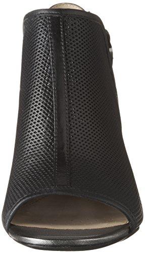 Geox D MARILYSE C, Sandales Bout Ouvert Femme Noir (Blackc9999)