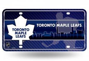 NHL Toronto Maple Leafs Metal License Plate Tag