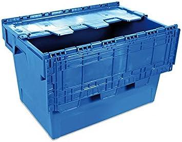 Tayg 6434-T Euro-caja con tapa para almacén y transporte ...