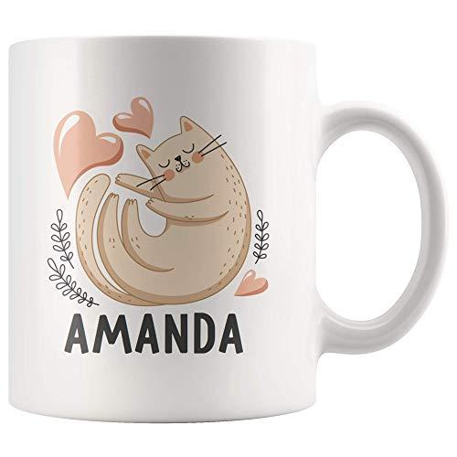 Amanda Cup - Amanda Coffee Cup | Personalized Mug with