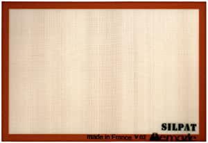 Silpat Non-Stick Silicone Commercial Size Baking Mat, 16.5-Inch by 24.5-Inch