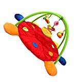Dovewill Baby Musical Sensory Play Mat Animals Soft Cotton Play Gym - Ladybird, as described