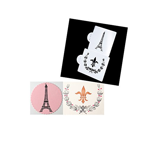cake-decoration-tool-cakes-border-stencil-culinary-stenciling-parisian-paris-mold-mould-cake-tool