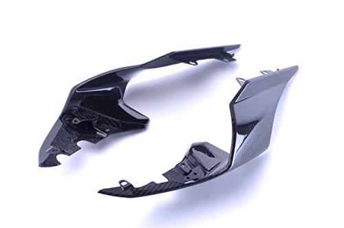 Bestem Carbon Fiber Rear Tail Side Housing Covers Fairings Twill for 2015-2018 Yamaha R1 R1M - Yamaha R1 Carbon Fiber