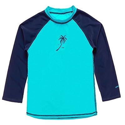 ATTRACO Girl's Boys Rash Guard Swimsuit UV Protect Shirts Rashguard Tops UPF 50+