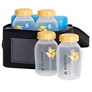 Medela Storage Kit - Breastmilk Cooler Set with Extra Ice Pack