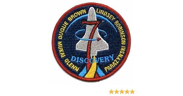 "John Glenn Return To Orbit 11/"" Embroidered Patch"