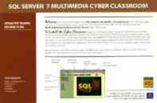 SQL Server 7 Multimedia Cyber Classroom pdf
