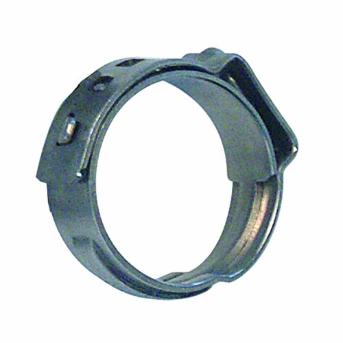 Steel 3 4 Pipe - Watts P-772 3/4-Inch Stainless Steel Cinch Clamp for 3/4-Inch PEX Pipe, 10-Pack