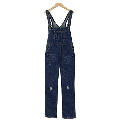 Tight Pantalone Tute Betrothales Fashion Monocromatica Larghi Blau Trousers Donna Wild Pantaloni Jeans Pants Tuta wHHFzq6