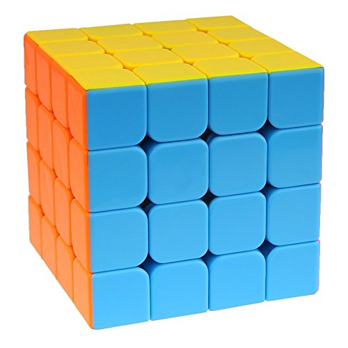 4x4x4 4x4 Stickerless Cube Puzzle - 8
