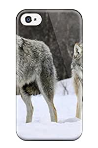 Randall A. Stewart's Shop Best New Premium Flip Case Cover Gray Wolves Norway Skin Case For Iphone 4/4s 7189939K48895663