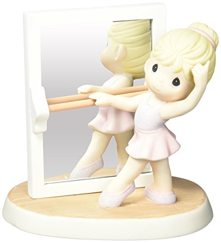 Precious Moments 152020  True Beauty Is Reflected From The Heart, Bisque Porcelain Figurine by Precious Moments