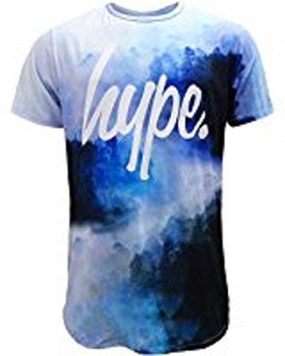 Hype Herren T-Shirt blau blau XX-Small