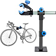 Clothink Bike Repair Stand Wall Mount Height Adjustable, Bicycle Maintenance Workstand Repair Rack for Mountai