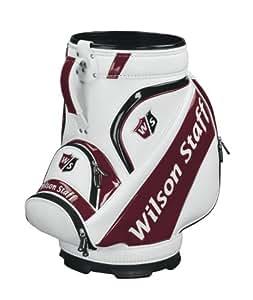 Wilson Staff Pro Tour Den Caddy carrito bolsa de Golf, blanco
