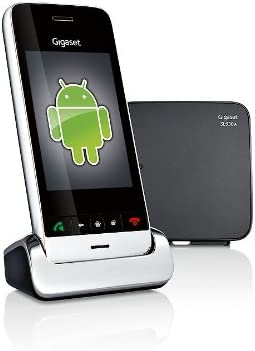 Gigaset SL930A - Teléfono Fijo analógico ((USB, WiFi, Android 4.0.4), Negro [Versión Importada]: Amazon.es: Electrónica