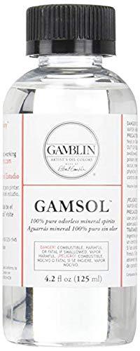 Gamblin Gamsol Odorless Mineral Spirits Bottle, -