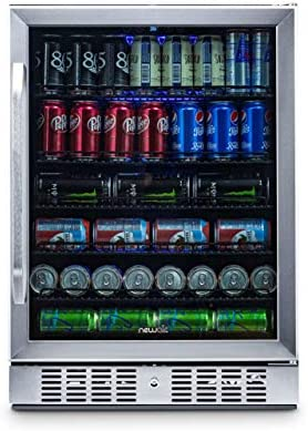 NewAir Beverage Refrigerator Stainless ABR 1770