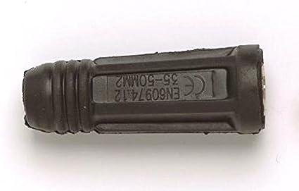 L/ötkolben 200A 10-25mm Schnellkupplung Buchse Stecker Europ/äisches Elektroschwei/ßger/ät