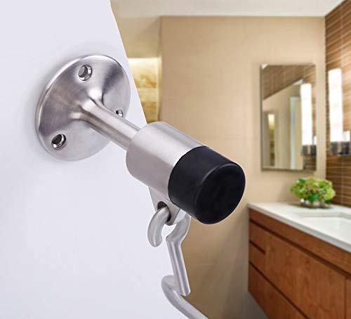 Ladybug Shine - Stainless Steel 304 Door Blocker Anti-Collision Limiter Cartridge Wind-Proof Opening Fixer Anti-Theft Door Blocker Door Top