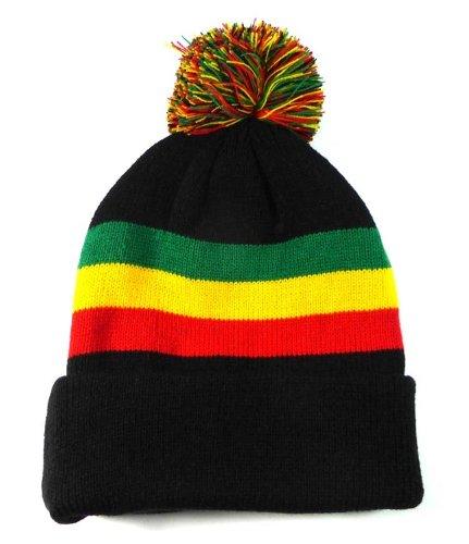ion - Rasta Beanie | Reggae Hats ()