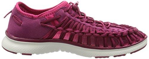 Keen Uneek O2 W, Zapatillas para Mujer Anemone/Bright Rose