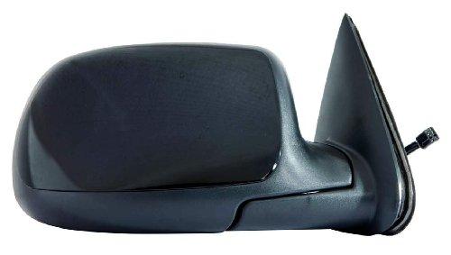 - Depo 335-5413R3ELH Glossy Black Passenger Side Power Heated Mirror