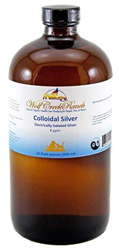 Wolf Creek Ranch EIS Colloidal Silver 8-10 PPM (32oz)