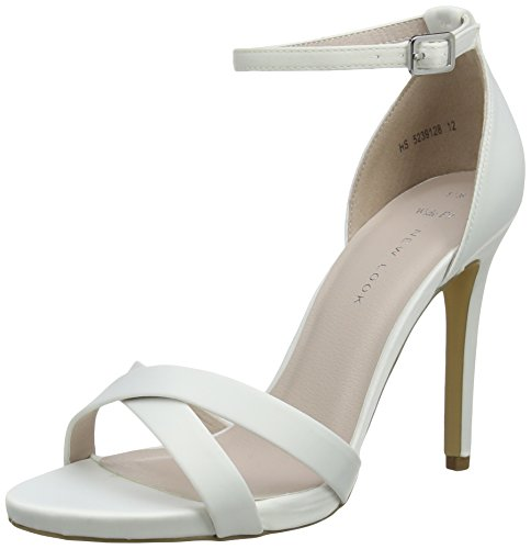 New Look Wide Foot Zadie - Zapatos Mujer Marfil (Off White)